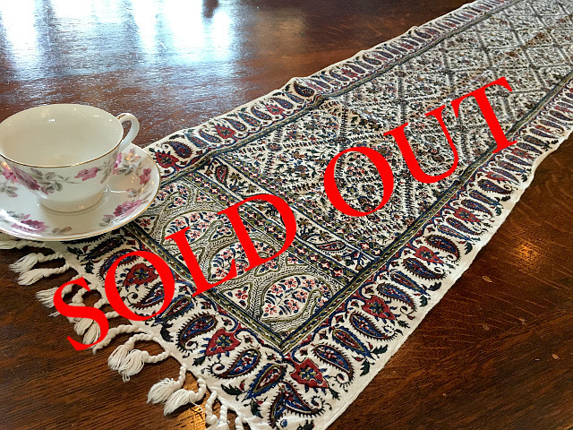 SOLD OUT Persian高級更紗(30×150cm)