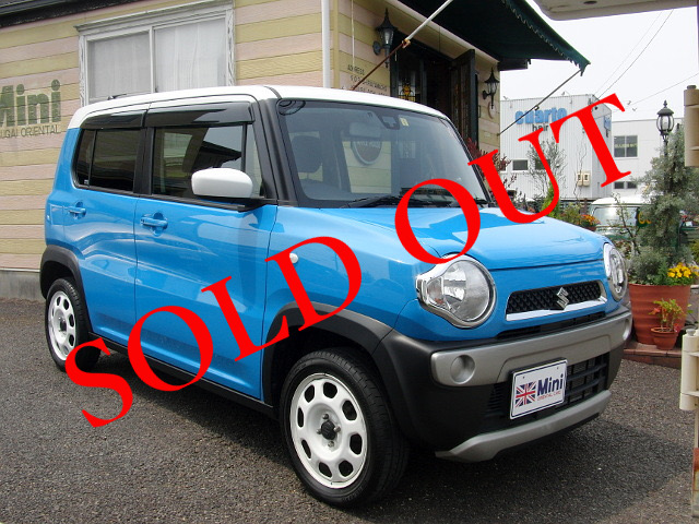 SOLD OUT 2015年(H27)スズキ ハスラーG (A/T)