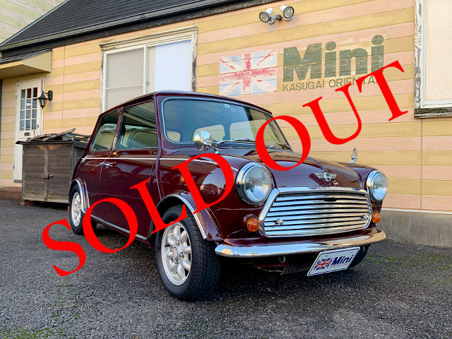 SOLD OUT '95 メイフェア 1.3i (M/T) ワインメタ