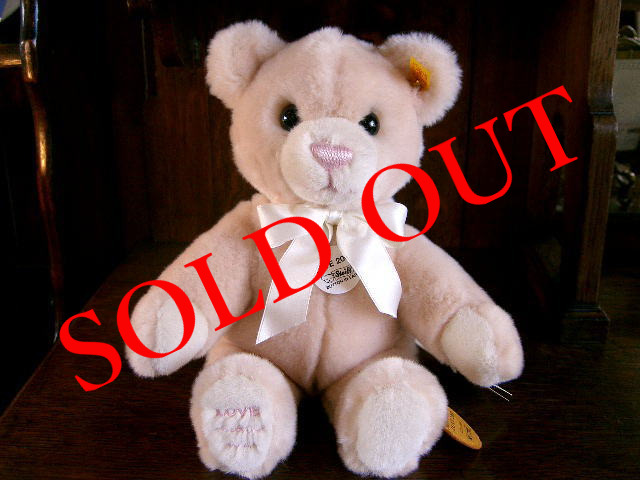 SOLD OUT テディベア 「Molly Teddy Bear LOVE」